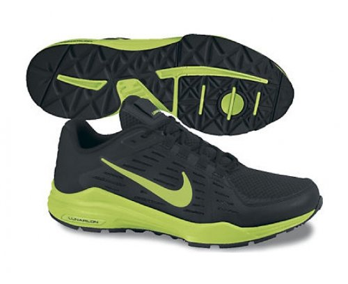 NIKE Lunar Edge 13 Scarpa da Training Uomo Nero/Giallo