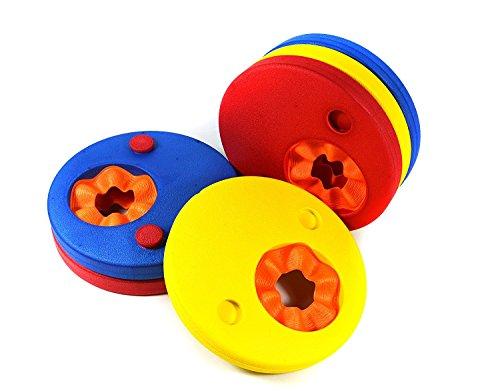 vpsan Kinder Arm Float Discs, Schwimmen Arm Marke Set Schwimmflügel für Pool (6PCS/set)