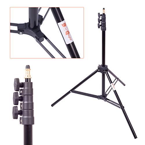 Fotografía Studio soporte para luz grande | 2,6m | trípode de aire acolchadas de apoyo | pesados Flash Strobe Monolight | luxlight jh-2600