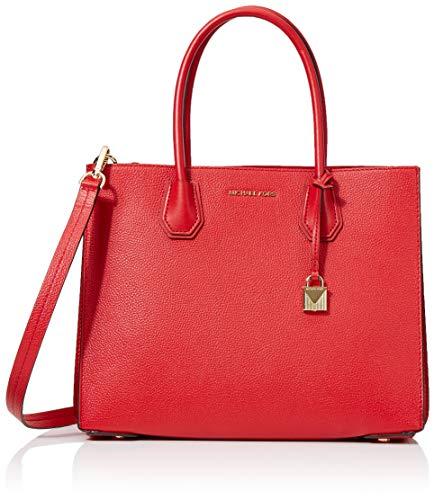 e87c3f3684 Michael Kors Tote, Bolso totes para Mujer, Rojo (Bright Red), 15x10x5