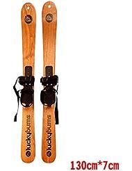 ALUK- En bois massif Planche à roulettes Costumes de ski pour hommes et femmes disponibles