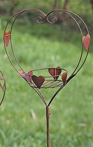 kuheiga Gartenstecker Herz H: 153cm