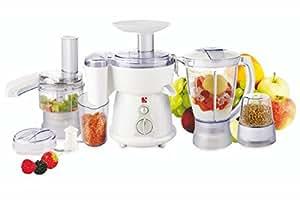 Kooper 2179470 Robot de cuisine multifonction, 380 W, 6 en 1