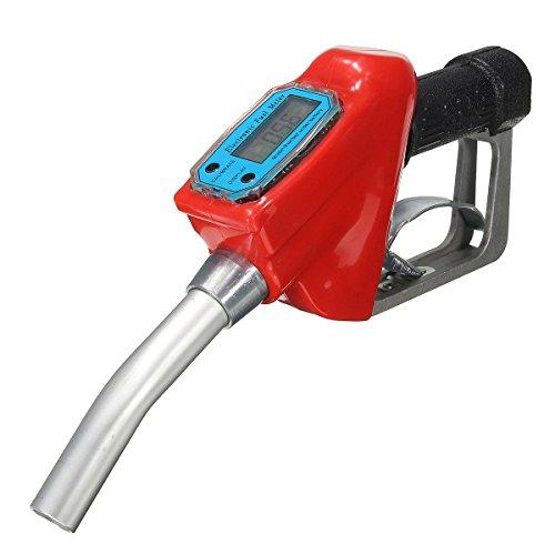 Alamor Auto Motocicleta Combustible Gasolina Petróleo Entrega Pistola 1 ' ' Dispensador De Boquilla Con Medidor De Flujo