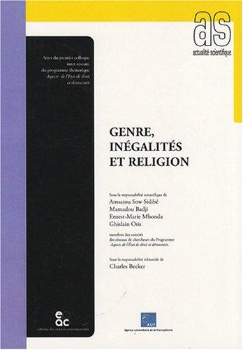 Genre, ingalits et religion