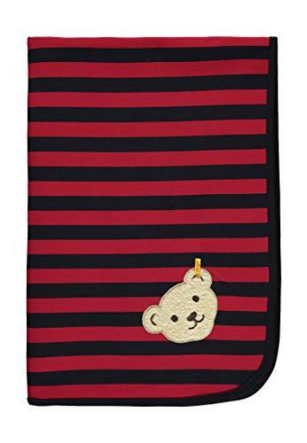 Steiff Baby-Jungen  Decke, Mehrfarbig (Y/d Stripe Multicolored 0001), Einheitsgröße