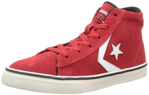 CONVERSE Pro Lea Vul Mid 290100-31-103 Unisex - Kinder Sneaker Rot (Rouge)
