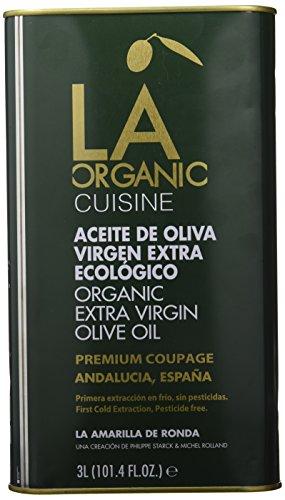 LA Organic Aceite de Oliva Virgen Extra Ecológico Coupage - 3000 ml