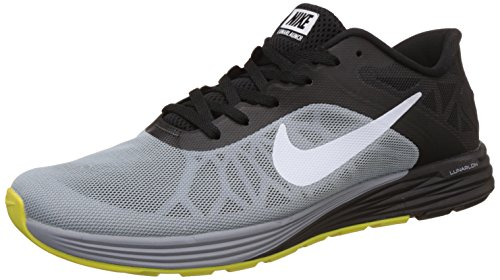 Nike Men's Lunarglide 6 Green and Black Running Shoes - 7 UK/India (41 EU)(8 US)(655433-010)  available at amazon for Rs.5691