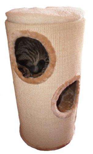Produktabbildung von Kratztonne Sisaltonne für Katzen - 70 cm hoch mit Einlagen