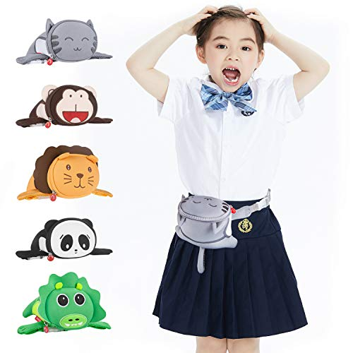Bauchtasche Kinder, Termichy Karikatur Katze Gürteltasche, Hüfttasche für Kinder Jungen, Mädchen und Kleinkinder im Kindergarten, Tolles Geschenk, Elternteil-Kind-Kleidungszubehör