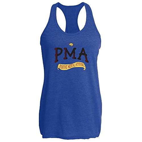 Pop Threads PMA Positive Mental Attitude Womens Tank Top by