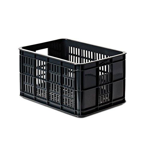 Basil Fahrradkasten Crate, schwarz, 25, 21016