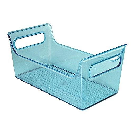 InterDesign 72598EU Kühlschrank-Boxen Tragbarer Gewürz-Caddy, aqua