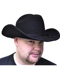 Morris Costumes Cowboy Hat Black Felt Sml
