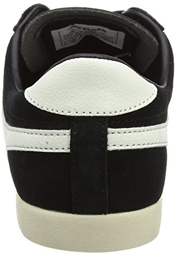 Gola Damen Bullet Suede Sneaker Schwarz (Black/off White)