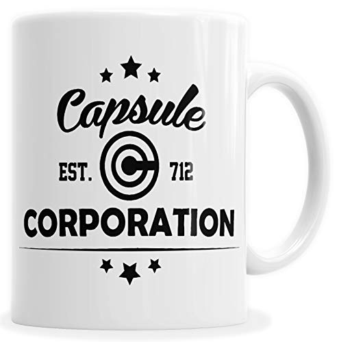 HYPSHRT Tasse Kaffeebecher Weiß Dragon Capsule Corporation F123457 (Cyborg Freezer)