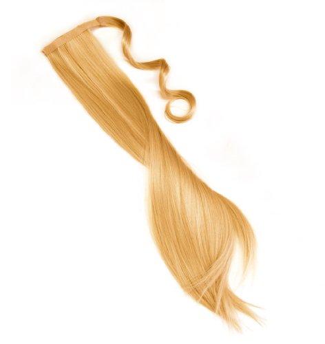 Postiche Ponytail à clipser extension de cheveux Poney en couleur brun clair NOUVEAU