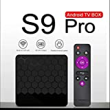 Android 9.0 TV box by Maxdigital, S9 PRO 2019 Newest 2 GB RAM