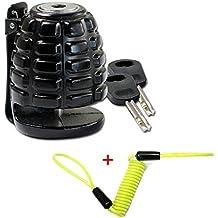 'freno Candado de Granada de mano Incluye cable de recuerdo para moto scooter quad atv Art-Land leichtkraftrad Mofa con perforación 5,5mm frenos de disco (HS de 280035) bisomo®