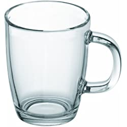 Bodum Bistro - Taza de cristal, 0,35 l, transparente