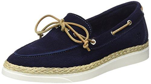 Marc O'Polo 70113993601300 Boat Shoe, Scarpe da Barca Donna, (Blu Scuro e), 39 EU