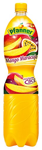 Pfanner Mango-Maracuja B+C+E 10%, 1.5 l EINWEG (Mango-saft)