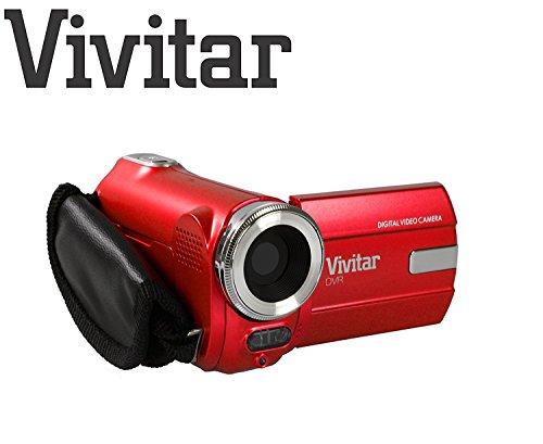Kinder-Camcorder ultra kompakte Digitalkamera Vivitar DVR908M 8-Megapixel-Full-HD 1080p Digitalkamera 8MP (rot)