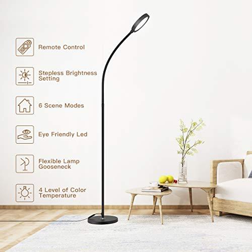 dodocool Lampada da Terra LED, Lampada Piantana Dimmerabile...