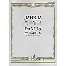 Dancla. Variations for violin & piano