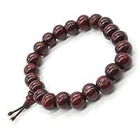 Sandalwood Bead Bracelet Tibetan Buddhist Buddha Meditation Men Elastic Bracelet 8mm Mala Prayer Beads