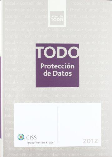 Todo protección de datos 2012 por Jordi Verdaguer López
