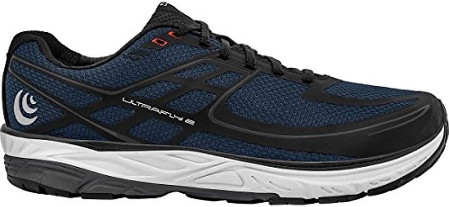 Topo Athletic Ultrafly 2 - Zapatillas de running para hombre, 11 D(M) US, Navy/Negro