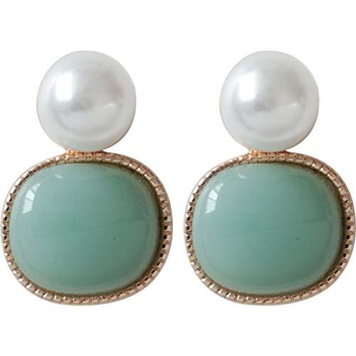 LILICAT_Schmuck Damen Ohrringe Elegante Klassische Runde Ohrringe Einfachen Ohrstecker Exquisite Ohrringe Damen Schmuck Geschenk (Gold Keil Pumpe)