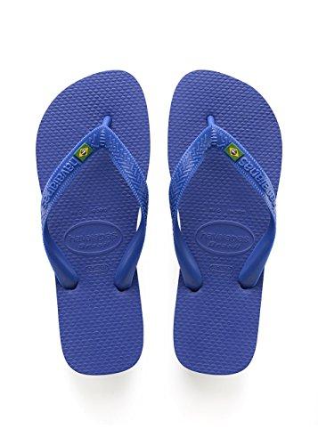 Havaianas Unisex - Erwachsene Brasil Zehentrenner, Blau (Brasil Logo Marine Blue), 39/40 EU (37/38 Brazilian)