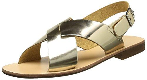 Jonak14702 - Sandali Donna , Oro (Or (Polido/Platine)), 37