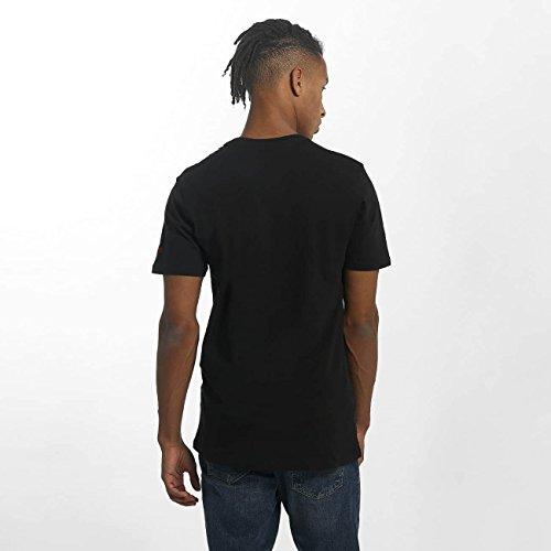 New Era Uomo Maglieria/T-Shirt Team Logo Chicago Bulls Nero
