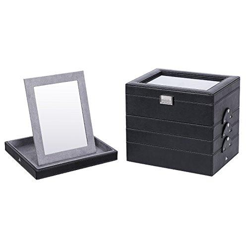 SONGMICS-Caja-joyero-Organizador-con-Varios-Niveles-Espejo-JBC142