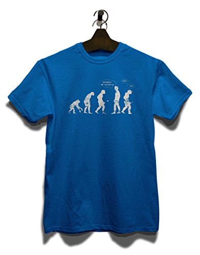 Go Back We Messed Up Yolo Swag Vintage T-Shirt Royal Blau