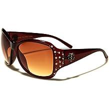 Kleo Sonnenbrillen - Mode - Fashion - Pilotenbrille - Radfahren - Skifahren - Laufen - Driving - Motorradfahrer / Mod. Capri Schwarz 2dytd4S
