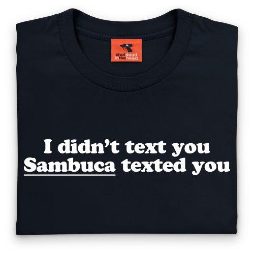 Sambuca T-Shirt, Herren Schwarz