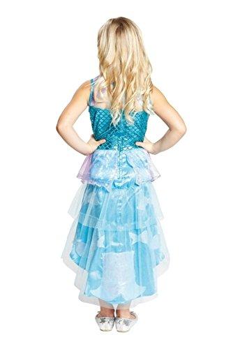 Meerjungfrauenkleid Kleid für Meerjungfrauen Kostüm und Nixen Kostüm (Seestern Kostüm Für Kinder)