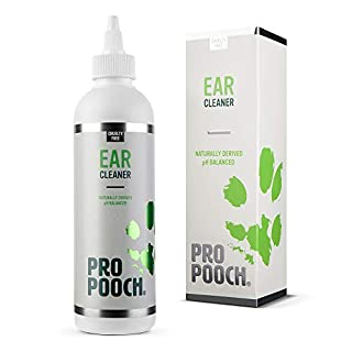 Pro Pooch Dog Ear Cleaner (250 ML) | Stop Itching, Head Shaking & Smell | Vet Recommended | For Dogs With Mites, Yeast, Itching & Ear Odour