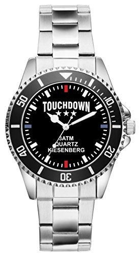 Touch Down American Football Geschenk Artikel Idee Fan Uhr 2488