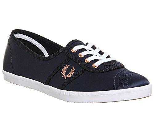 Fred Perry Aubrey Satin Donna Sneaker Blu Blu