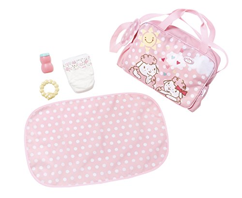 Zapf Creation 700730 Baby Annabell Wickeltasche, bunt