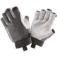 EDELRID Work Glove Guantes de Trabajo Open II, Unisex Adulto, Gris, Large