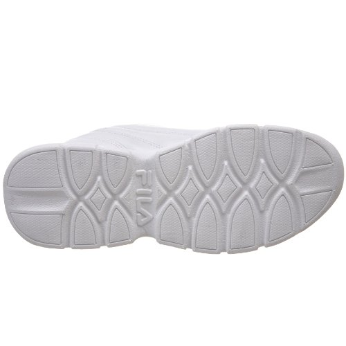 Fila échange 2k Sneaker White/White/Metallic Silver