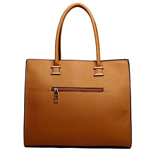 Miss Lulu ,  Damen Tasche 1509 Tan