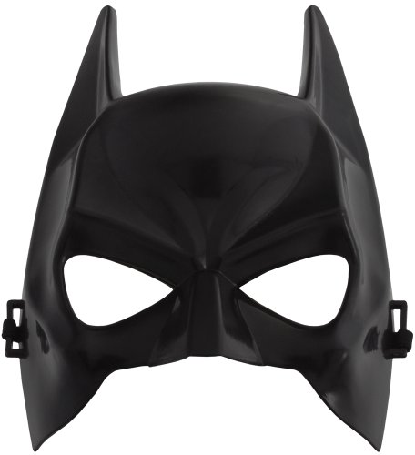 Smartfox Batman Maske - Fasching Halloween Party Geburtstag Kostüm Karneval Theater (Batman Halloween Maske)